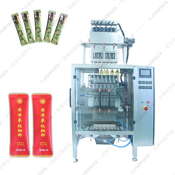 6列液体包装机_多列液体背封包装机